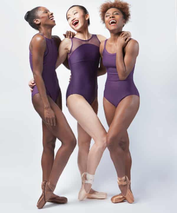 'It's just going to look right' … from left, Cira Robinson, Sayaka Ichikawa and Marie Astrid Mence.