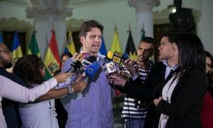 Guillaume Long: Ecuador's Minister of Finance