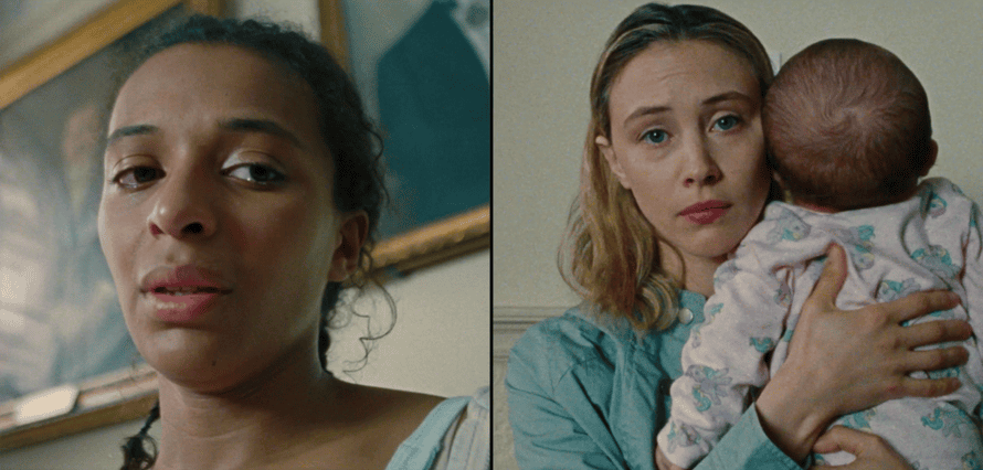 Tia Bannon and Sarah Gadon in Balls by Lily Cole.
