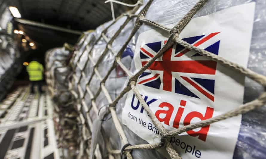 The UK has a laudable record of providing international aid.