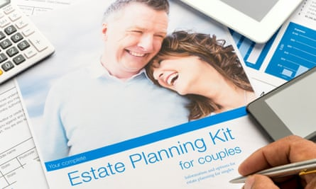 An Estate planning document for couples