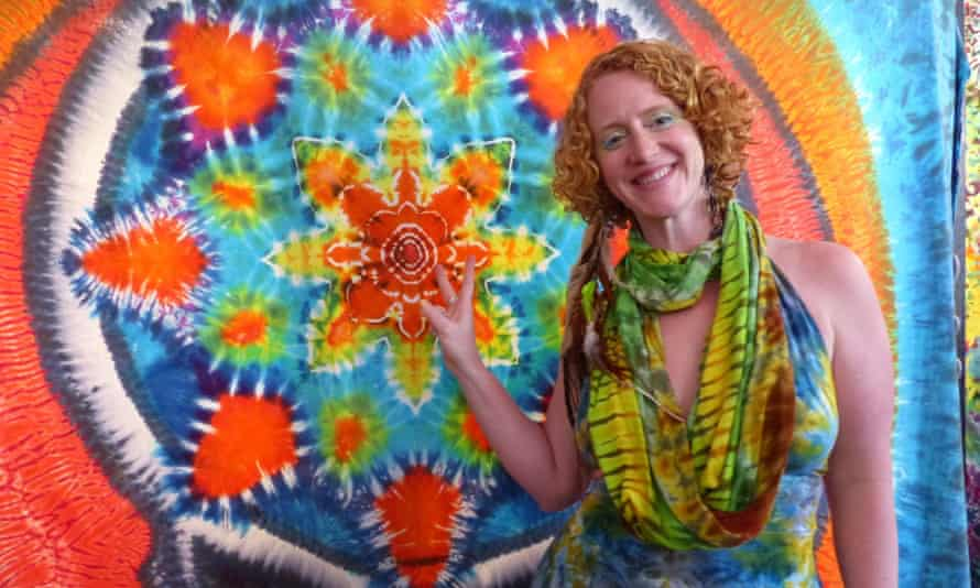 Sunshine 'Sunny' Powers in her shop Love on Haight.