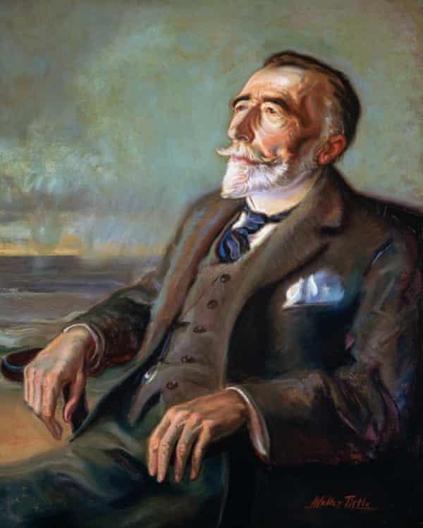 Portrait of Joseph Conrad by Walter Tittle, 1923-24.