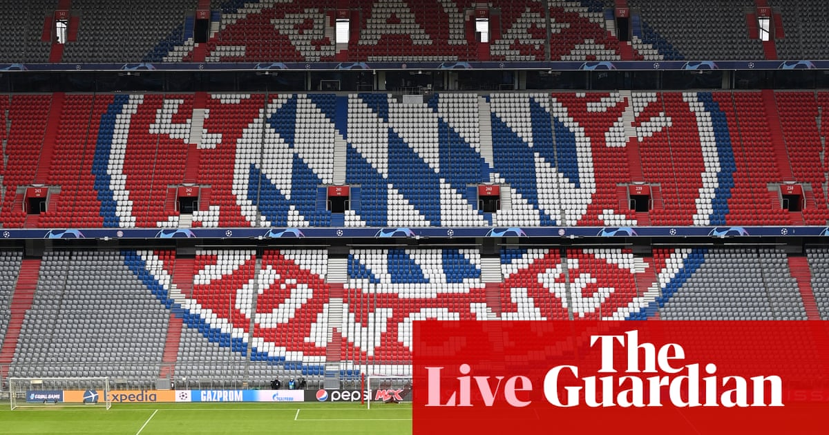 Bayern Munich v PSG: Champions League quarter-final – live!