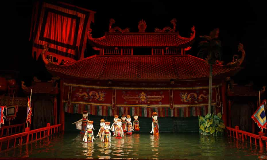 Thang-Long water puppetry, Hanoi
