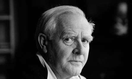 John le Carré in 2000. He began learning German aged 13.