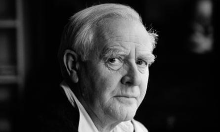 John le Carré, aka David Cornwell, in December 2000.