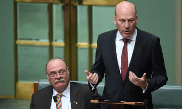 Trent Zimmerman delivers his maiden speech in the House of Representatives at Parliament House