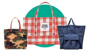 Totes from Madewell, Opening Ceremony and Cos.