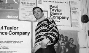 This Jan. 8, 1969 file photo shows dancer-choreographer Paul Taylor in New York.