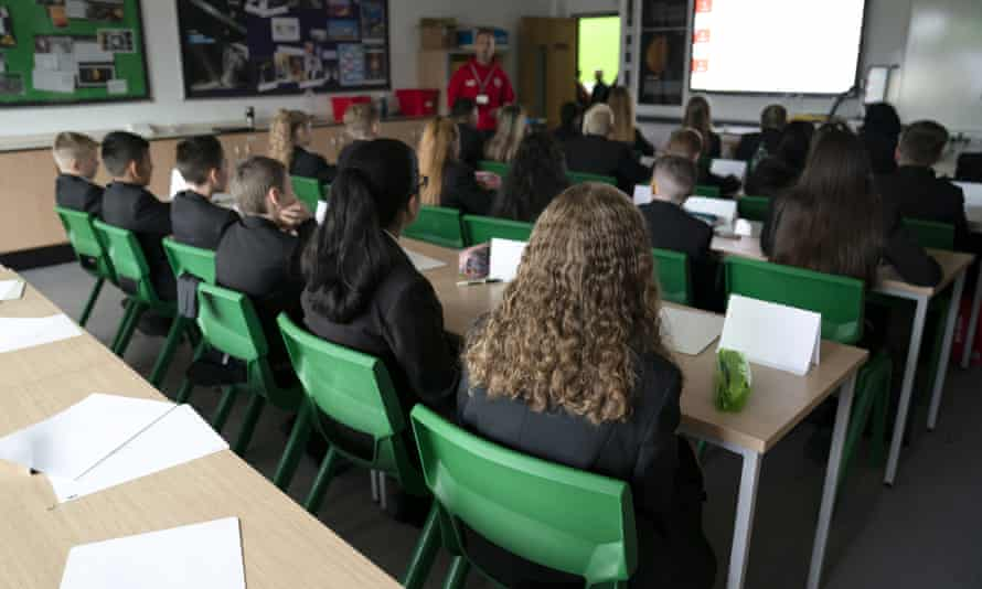 Year 7 class at Great Academy Ashton in Manchester.