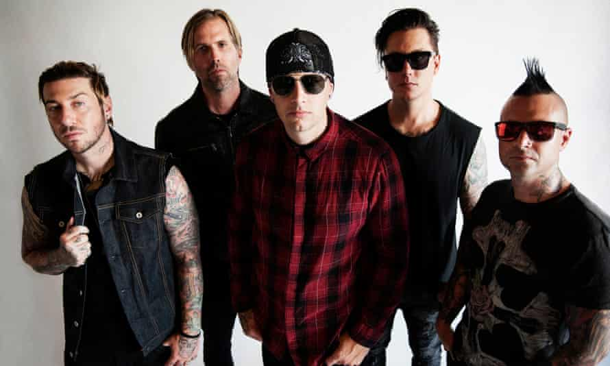Blowing the creative doors off … Avenged Sevenfold