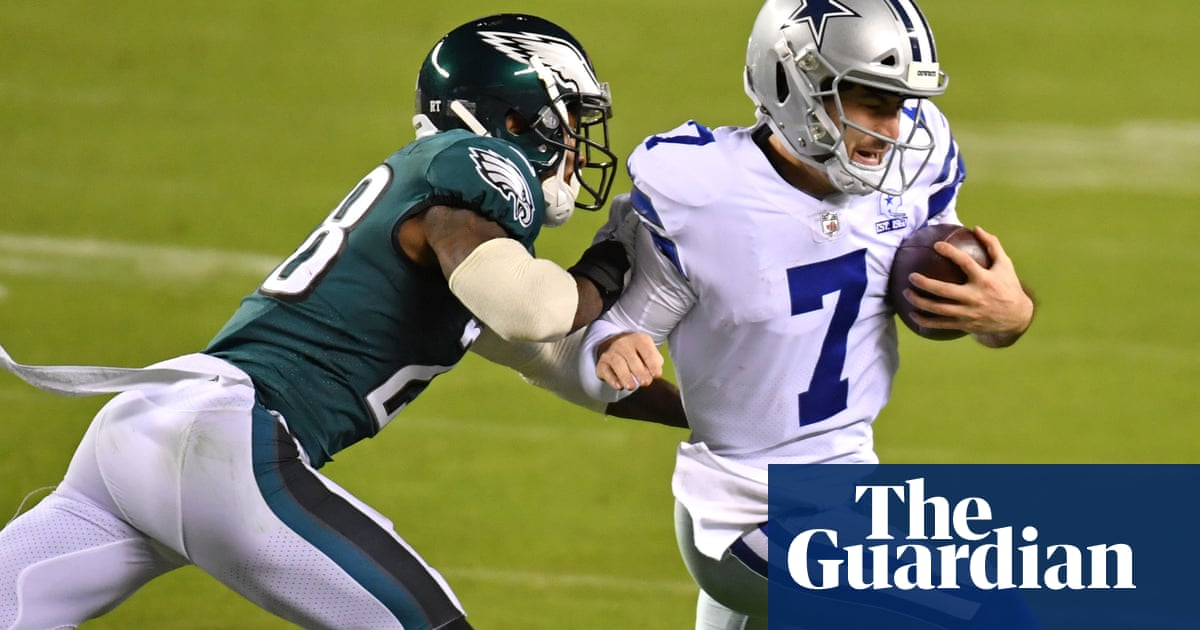 Cowboys turn to fourth quarterback in five weeks as nightmare season plods on