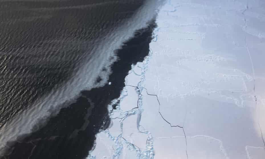 Western Antarctica glacial retreat