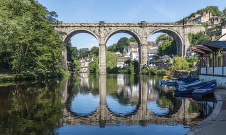The bridge at Knaresborough, North Yorkshire.