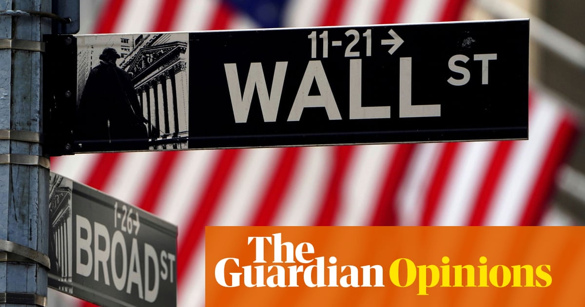 The American economy is perilously fragile. Concentration of wealth is to blame