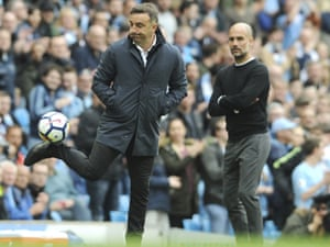 Carlos Carvalhal's tactics have been overly cautious recently.