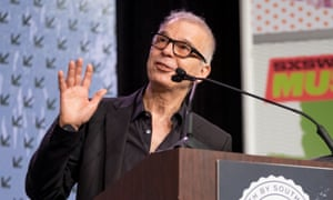 Tony Visconti gives a speech at SXSW Music 2016 last March in Austin, Texas.