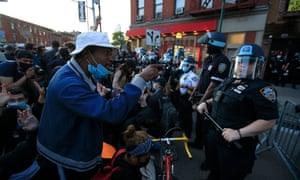 Protests in Brooklyn.