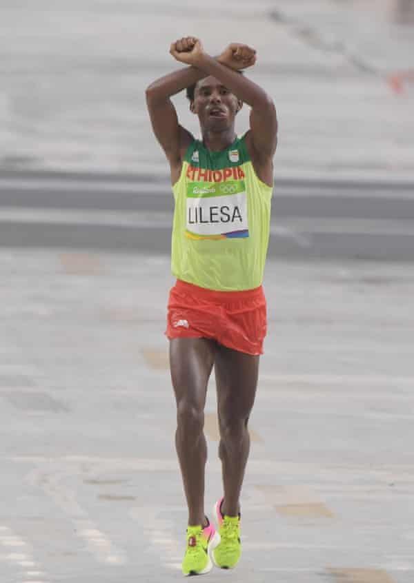 Feyisa Lilesa: being an athlete allowed me to be the voice of my people    Ethiopia   The Guardian