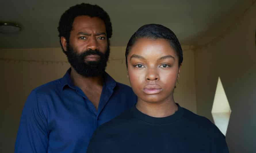Nicholas Pinnock and Yasmin Monet Prince in Unsaid Stories.