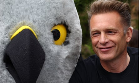 Chris Packham at Hen Harrier Day at the weekend.