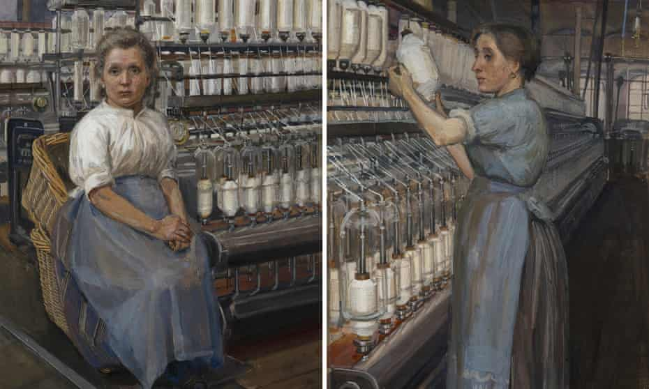 Two of Pankhurst's paintings