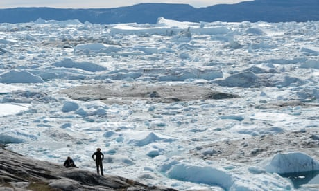 Greenland's ice melting faster than at any time in past 12,000 years