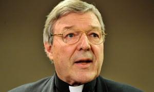 Cardinal George Pell in 2008.