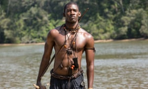 Controlled rage … Malachi Kirby as Kunta Kinte in Roots.