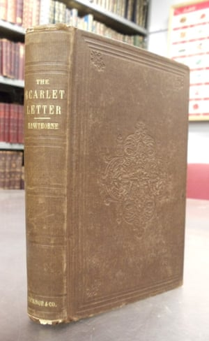 Copy of The Scarlet Letter from Brattle Bookstore