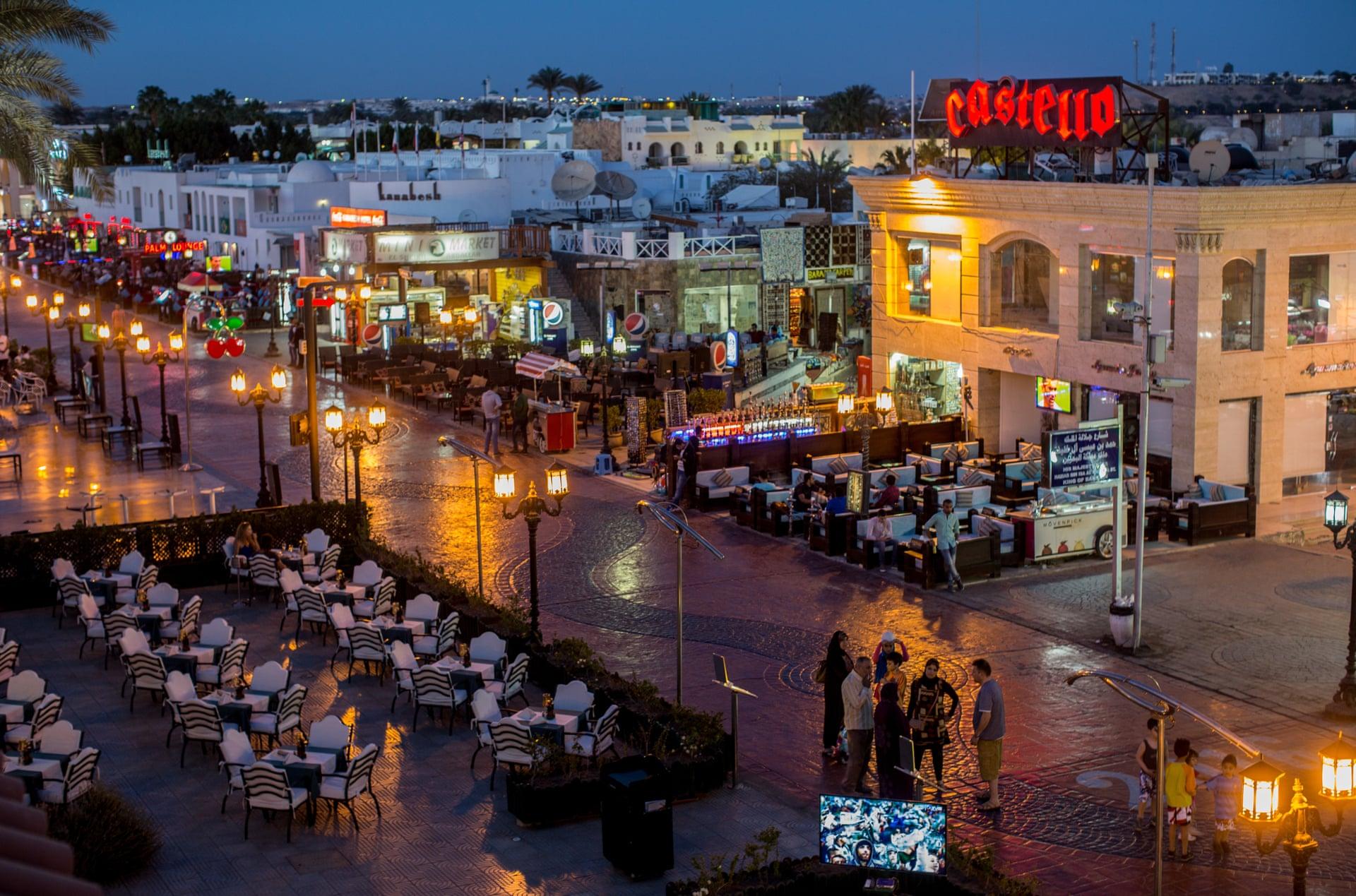 пустые курорты египта фото создал