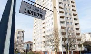 General view of Ladywood, Birmingham
