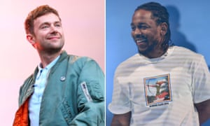 Damon Albarn and Kendrick Lamar.