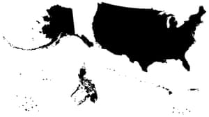 The 'Greater United States' map