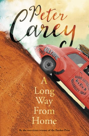 Cover image for A Long Way From Home by Peter Carey