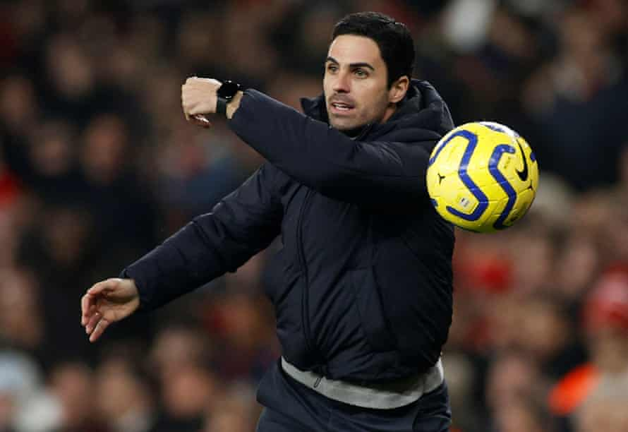 Mikel Arteta: 'He looks like a handsome tailor's mannequin haunted by the spirit of a Victorian wraith.'