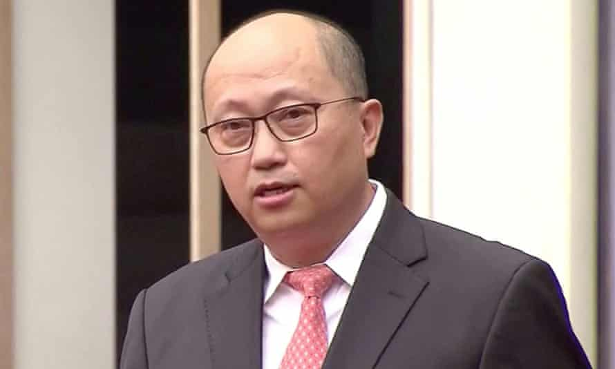 Zheng Yanxiong, the director of national security office.