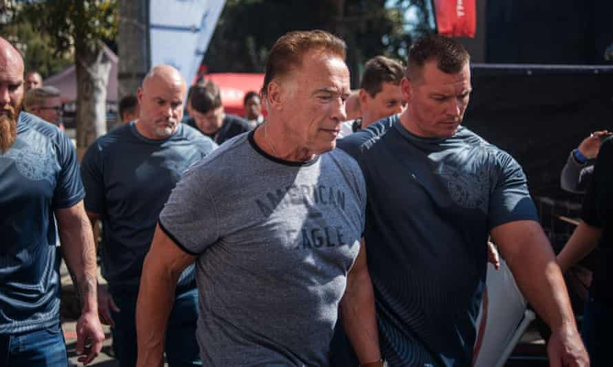 'I hope gets his life on the right track,' said Arnold Schwarzenegger of his assailant.