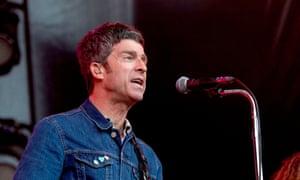 Noel Gallagher's High Flying Birds performing in Edinburgh on 19 July.