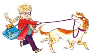 An illustration by Sara Ogilvie from Julia Donaldson's The Detective Dog.