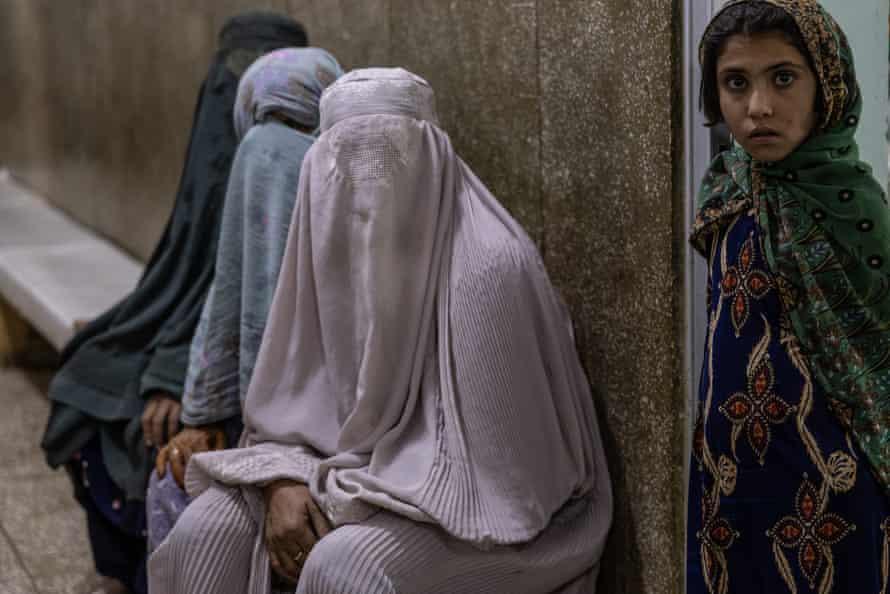 Malnutrition ward at Kandahar's Mirwais Hopsital.