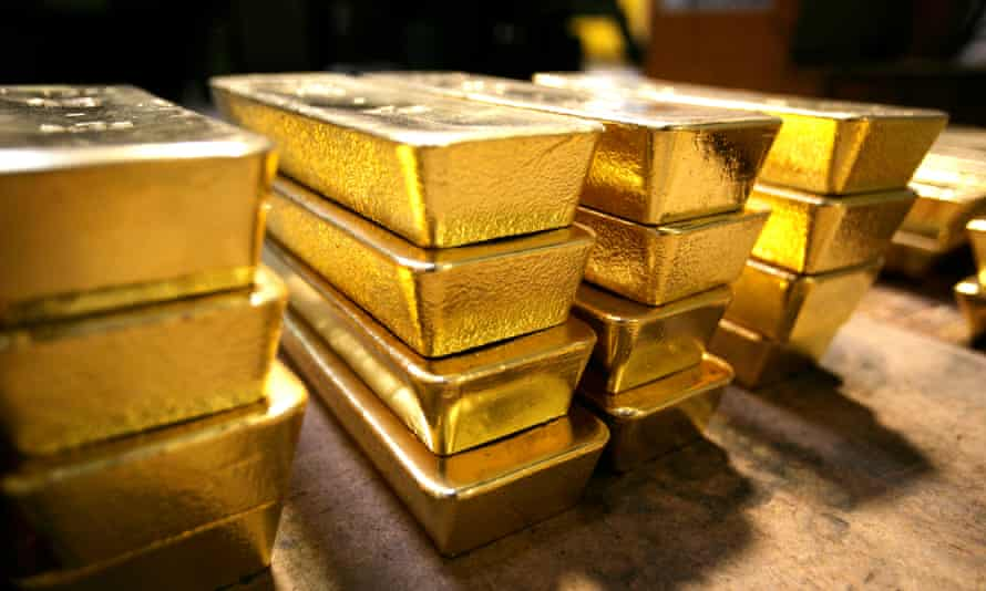 Gold started 2016 on two-month highs. 'When the stock market would have its big down days, in gold we would start to see some buying come in. It seems as if people are picking at it,' said one analyst.