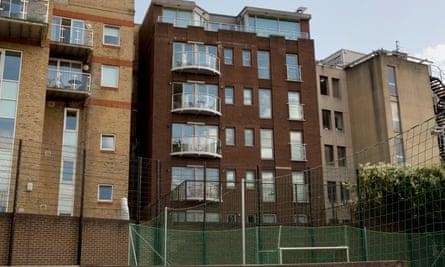 McCluskey's flat cost £695,500 in February.