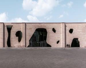 Nevsehir Bus Terminal,Turkey, 2010, Bahadir Kul Architects