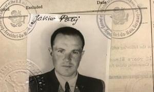 Jakiw Palij in a 1949 visa photo.