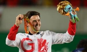 Gordon Reid won Paralymic gold in the men's tennis in Rio by beating fellow Briton Alfie Hewett in the final