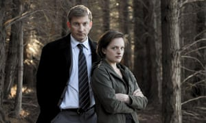 Elizabeth Moss with David Wenham in Top of the Lake. Photograph: See-Saw Films/Escapade Pictu/Rex/Shutterstock