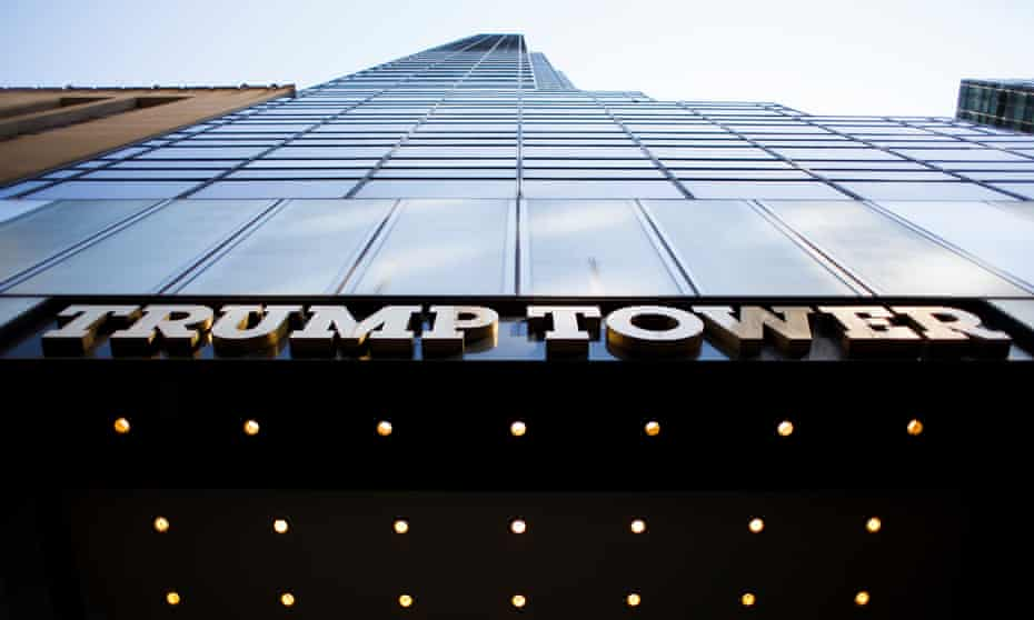 Trump Tower is among eight properties that do not comply with new New York City emissions regulations.