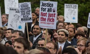 The new research comes five years after the biggest cuts to the legal aid scheme in the UK since its introduction after the second world war.